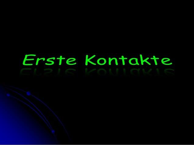 ErsteKontakte<br />