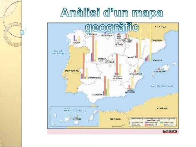 Presentació -Identificació -Elements -Escala -Llegenda -Tipus de mapa -Font Ànalisi -Descripció -Explicació del fenònem ge...