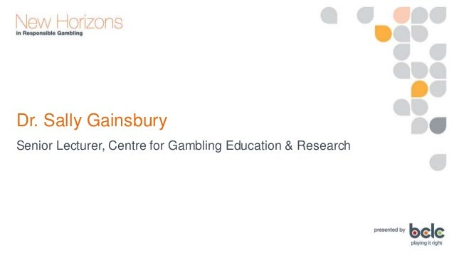 Dr. Sally Gainsbury: Overcoming the Stigma of Problem Gambling Slide 3