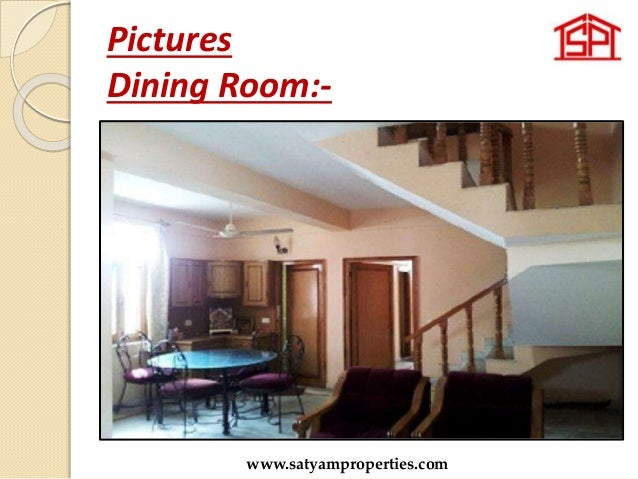 Pictures Dining Room:- www.satyamproperties.com
