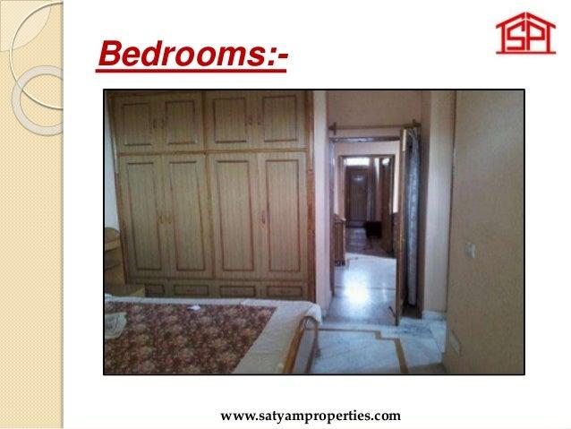 Bedrooms:- www.satyamproperties.com