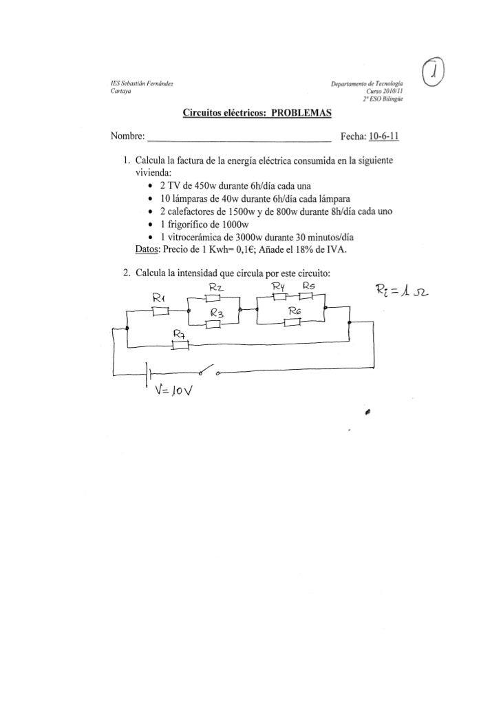 2ºbil problemas electricidad