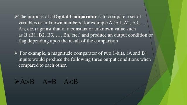 2 Bit Magnitude Comparator Circuit Diagram   2 Bit Comparator Digital Electronics