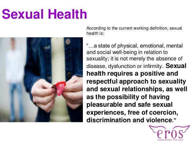 Definition Of Sexual Health