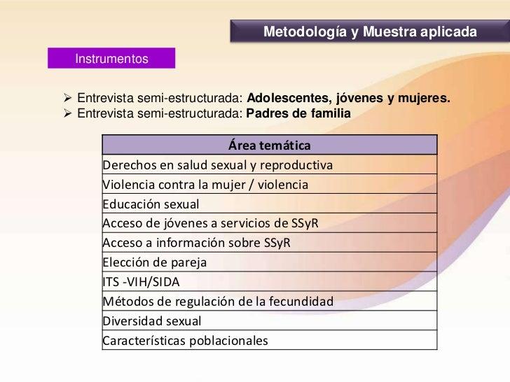Resultados de la Línea de derechos sexuales y reproductivos en La Paz Slide 3