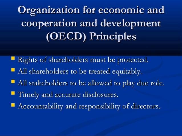 Organization for economic andOrganization for economic and cooperation and developmentcooperation and development (OECD) P...