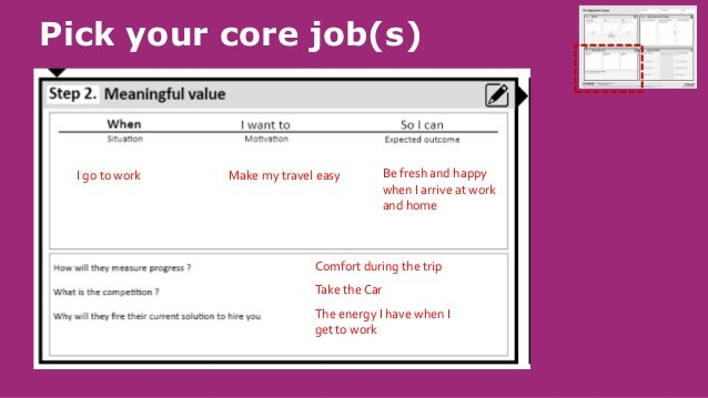 Could we change how to do things to deliver or capture more value