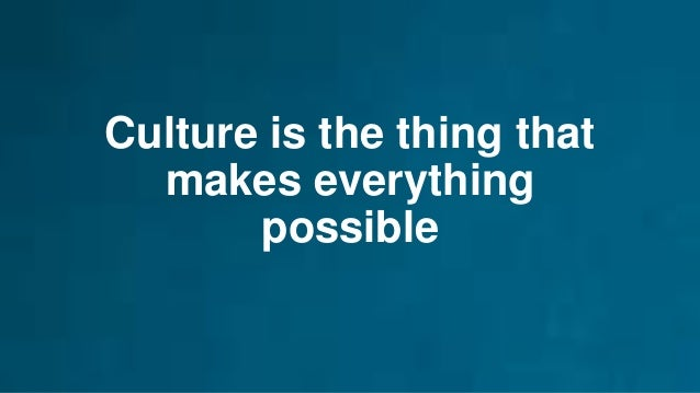 Culture to make it happen 87 Public Service Some desire to innovate More desire to stay the same Customer Centric Willing ...