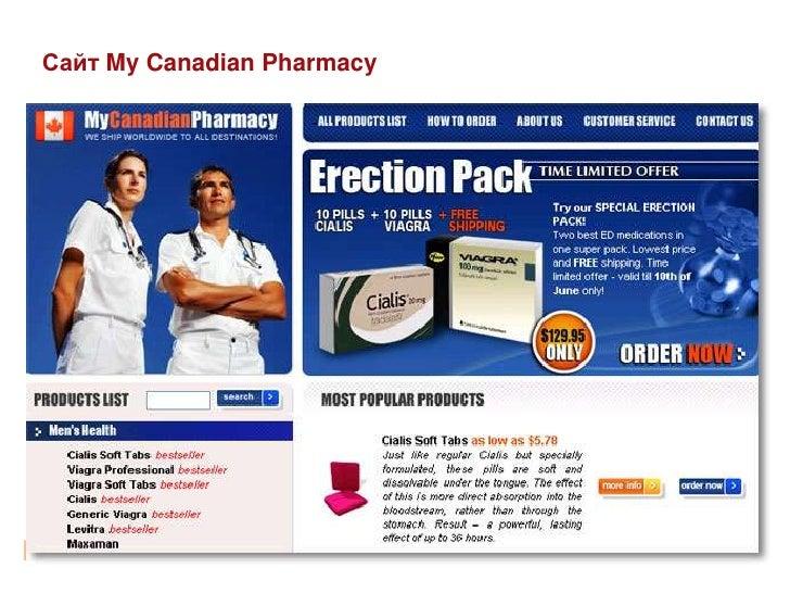 Сайт My Canadian Pharmacy