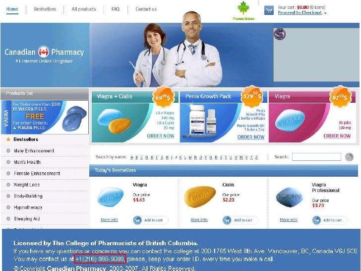 Реальный адрес офиса My Canadian Pharmacy                  1592 Wilson Avenue                  Toronto, ON M3L 1A6• Доход ...