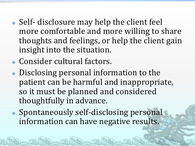Relationship With Self: Base Point for All Other Relationships