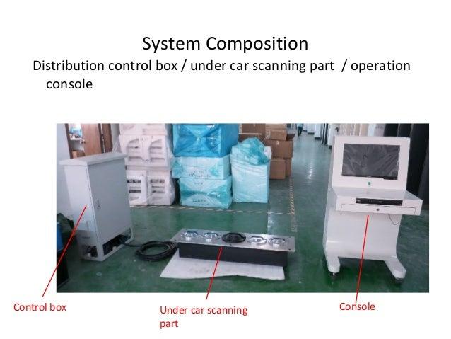 Under vehicle scanning system- Embedded typekelly Slide 2