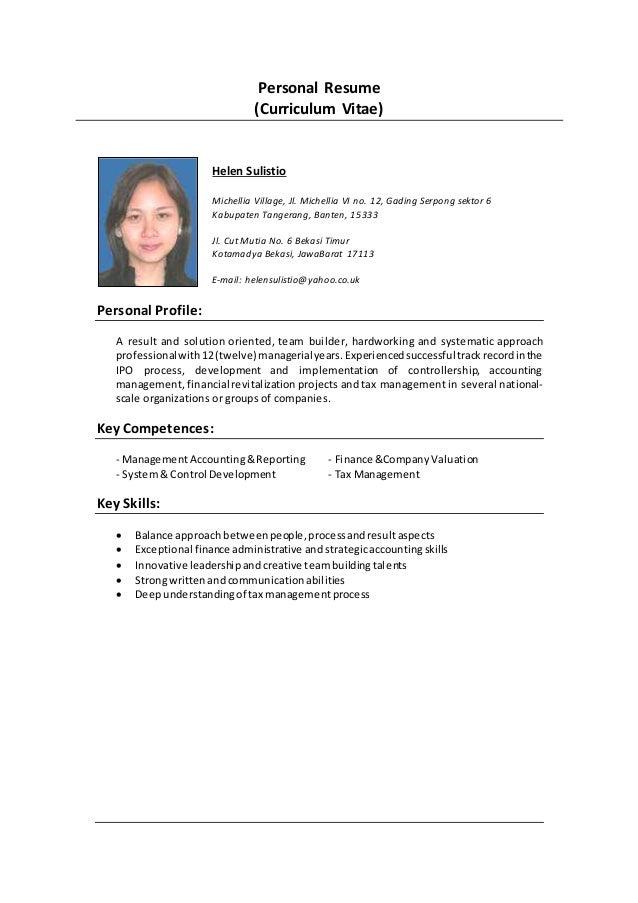 Helen  Resume  2016  December