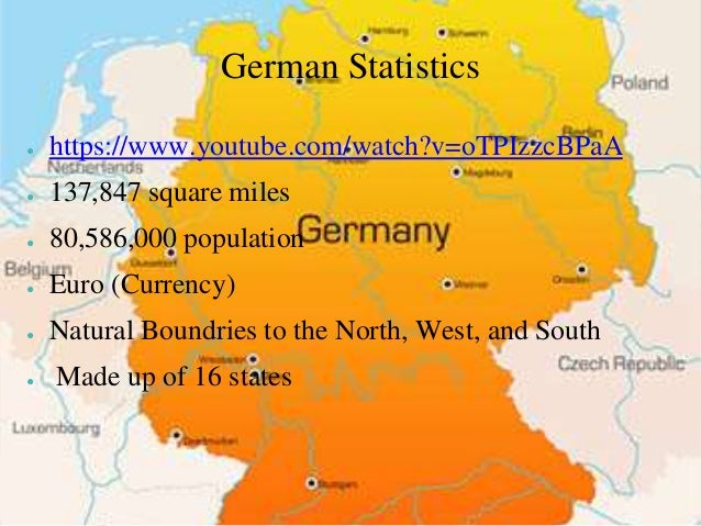Germany - Youtube germany map