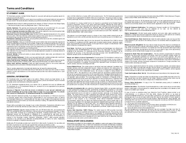 Td ameritrade portfolio margin test 2 answers