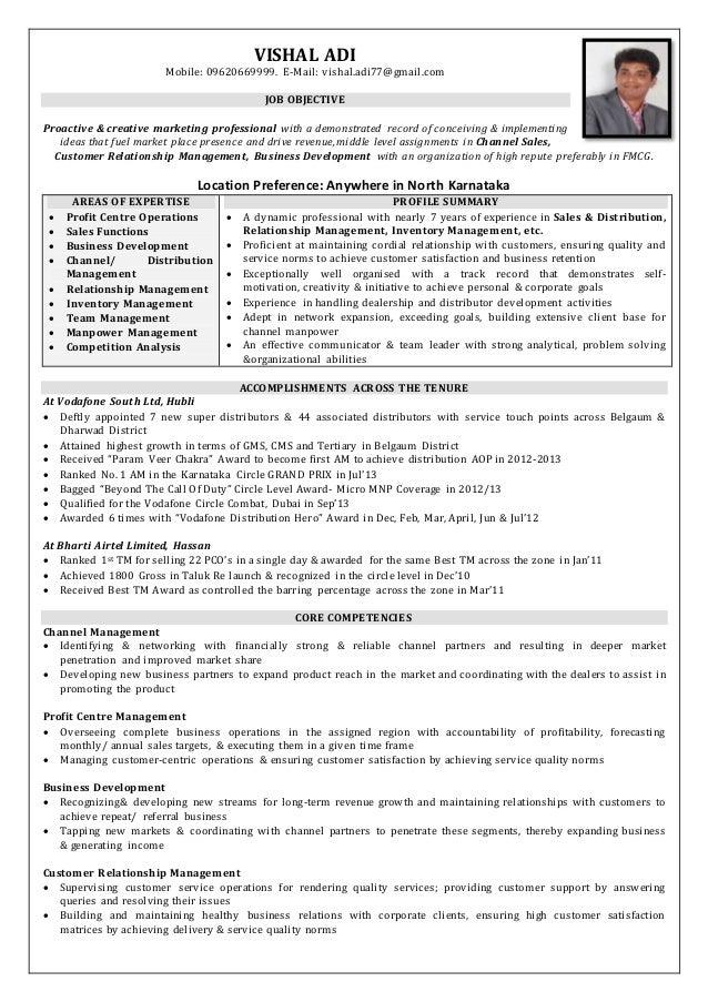 Vishal Adi .Resume