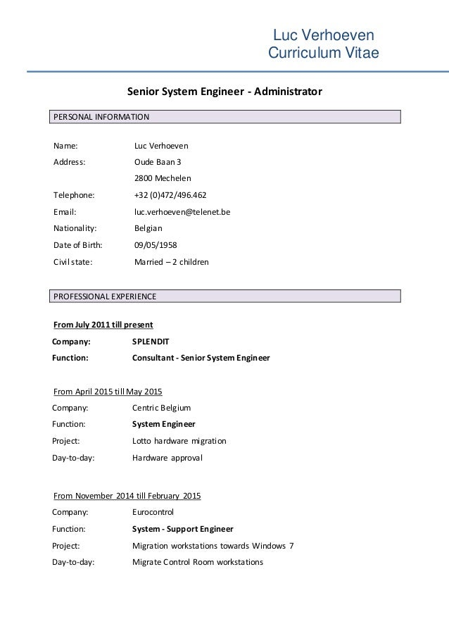 resume by skill set template