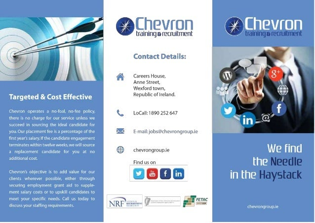 chevron recruitment brochure