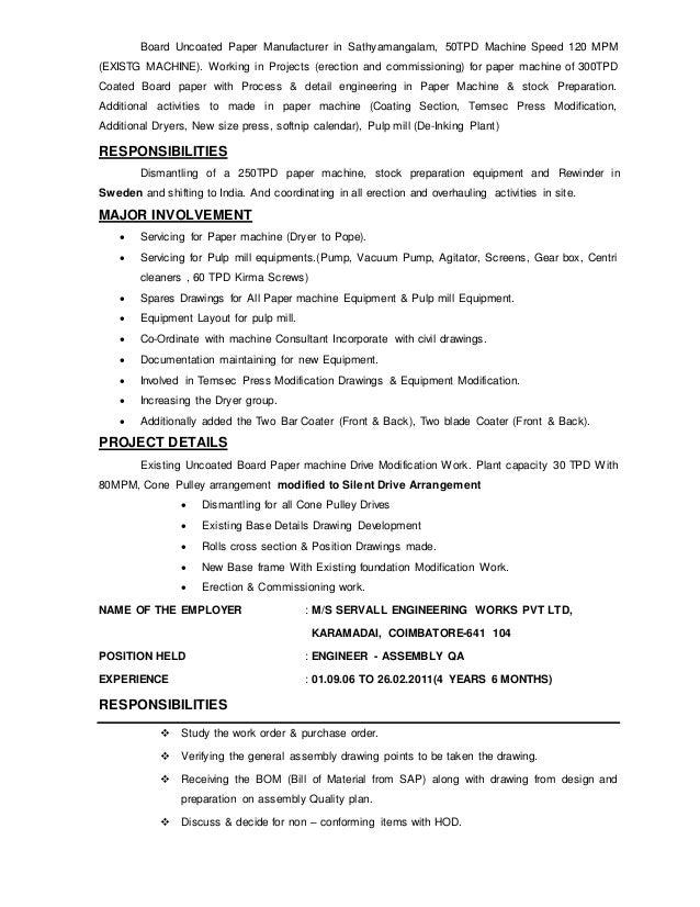 diwahar resume