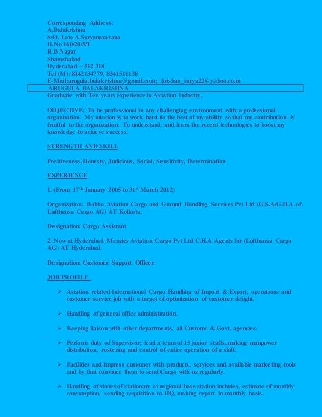 Corresponding Address: A.Balakrishna S/O, Late A.Suryanarayana H.No 160/20/5/1 R B Nagar Shamshabad Hyderabad – 512 318 Te...