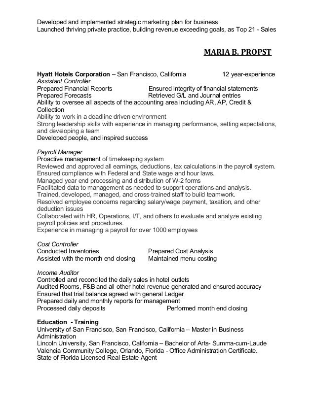 Beautiful Orlando Accounting Resume Gallery - Best Resume Examples ...