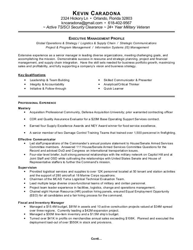 k caradona resume linkedin