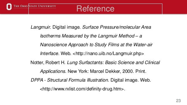 23 Reference Langmuir. Digital image. Surface Pressure/molecular Area Isotherms Measured by the Langmuir Method – a Nanosc...