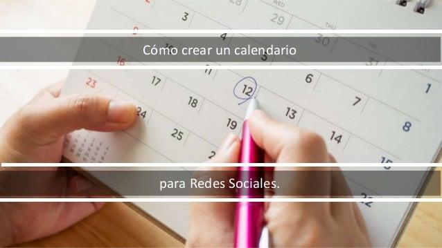 calendario para redes socieles 1 638