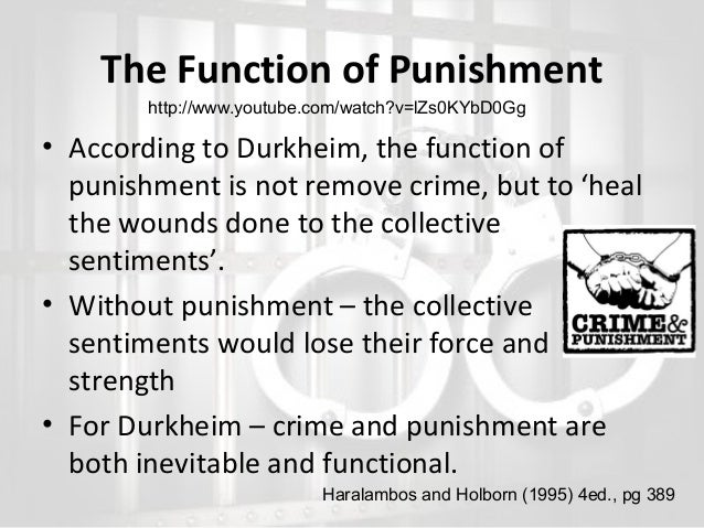 functionalism and crime and deviance Study crime and deviance using smart web & mobile flashcards created by top  sample decks: functionalism and subculture, new right realists, new left.
