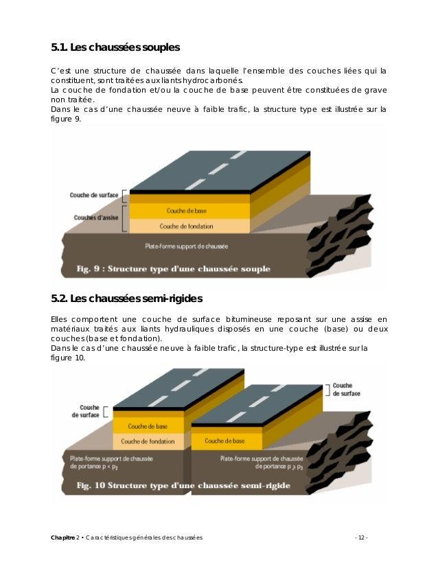 2 caracteristiques des chaussees cours routes procedes generaux de co - Type de materiaux de construction ...