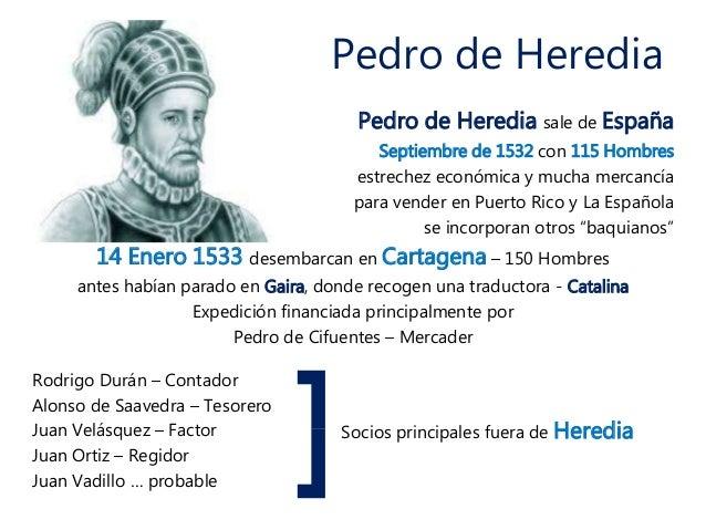 Cartagena de indias descubrimiento y conquista - Pedro piqueras biografia ...