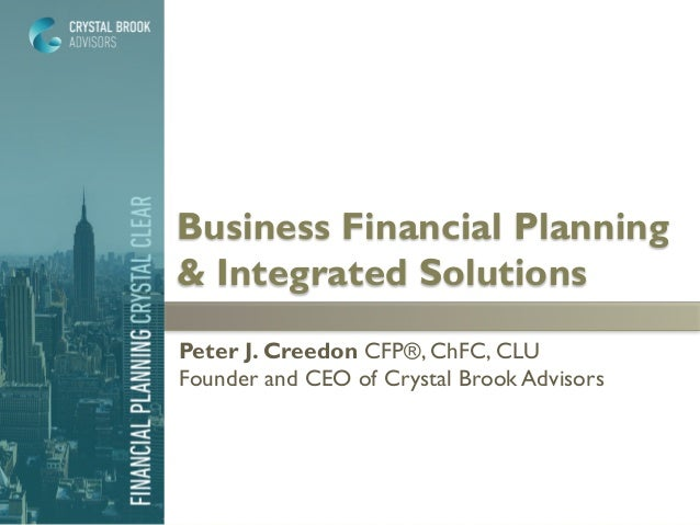 business financial planning integrated solutions