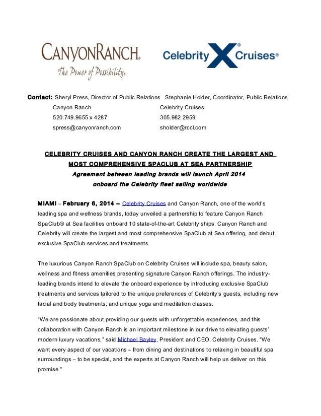Press Releases   Celebrity Cruises Press Center