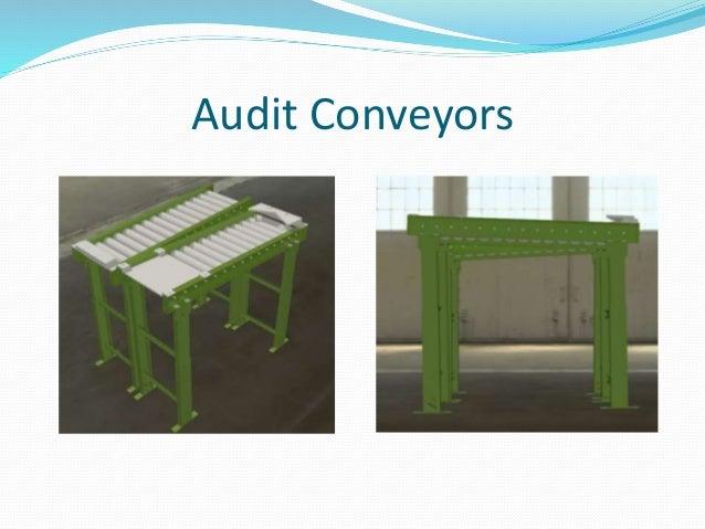 Audit Conveyors