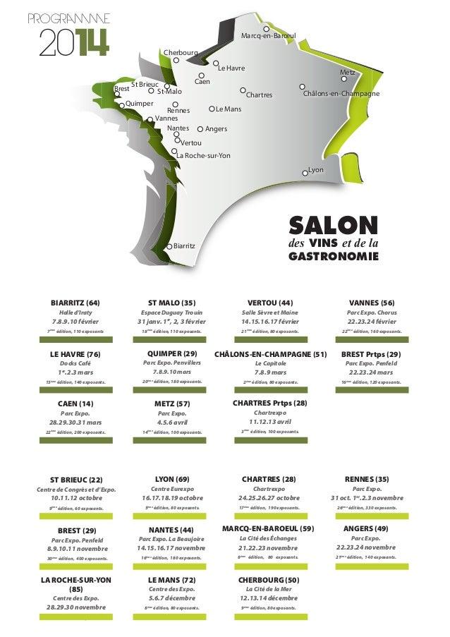 Salon des vins et de la gastronomie - Salon de la gastronomie rennes ...