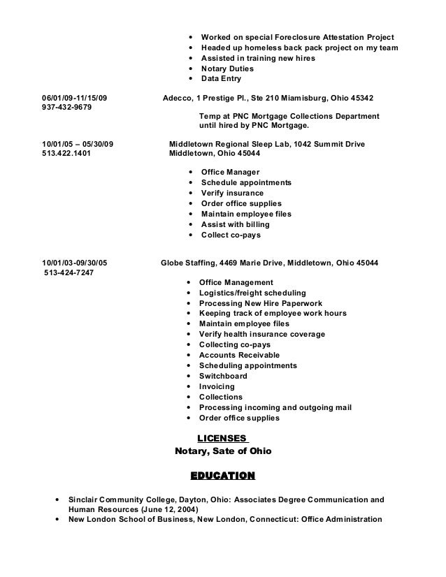 what to put on a resume resume 1042