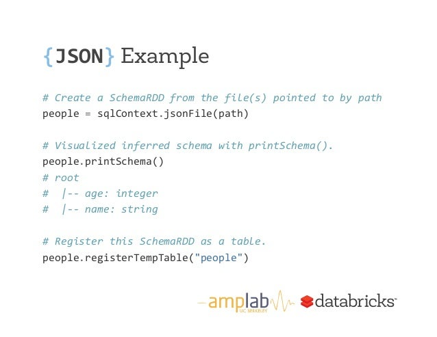 Intro to Spark and Spark SQL