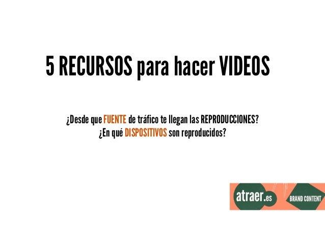 ! 1. iPhone + trípode ! 2. Instagram / Vine ! 3. Cámara + trípode + fondo blanco/paisaje 4. http://videolean.com / http://...