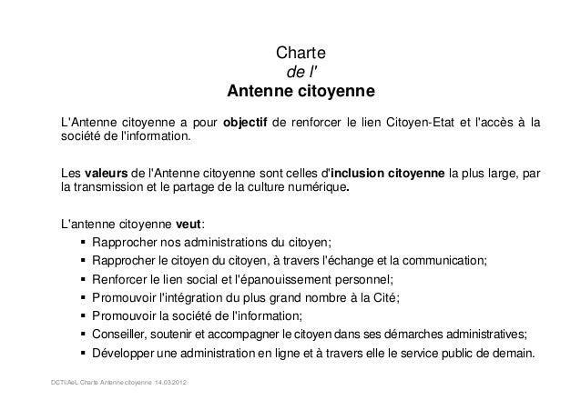 Charte                                                     de l                                               Antenne cito...