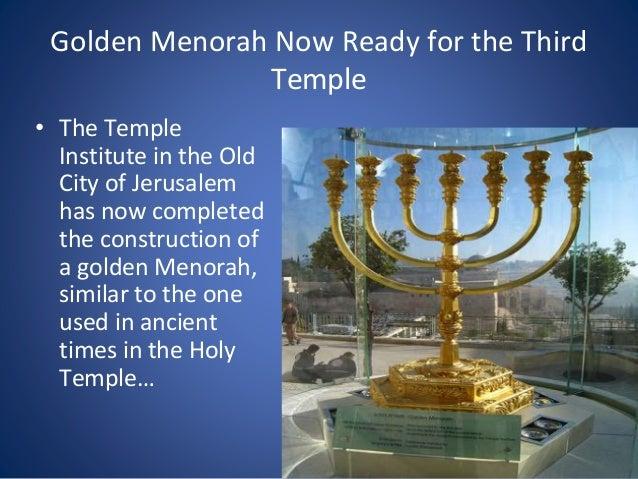 Kuvahaun tulos haulle menorah temple institute
