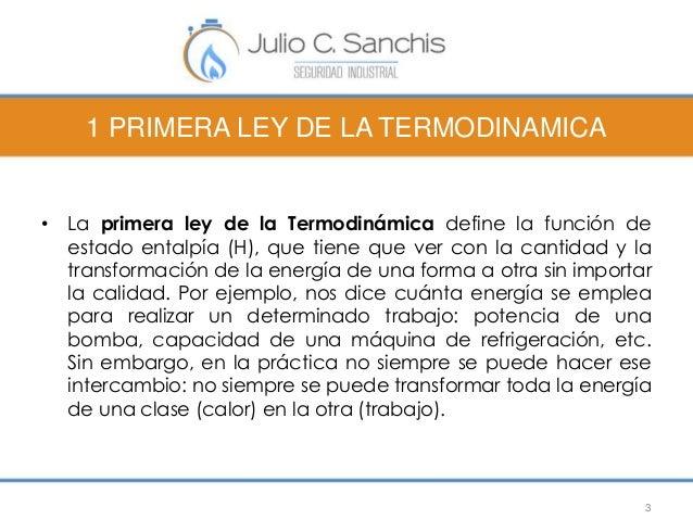 1 PRIMERA LEY DE LA TERMODINAMICA  • La primera ley de la Termodinámica define la función de  estado entalpía (H), que tie...