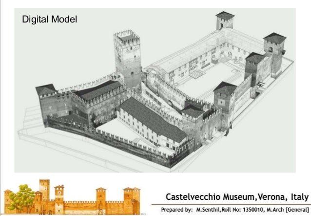Castel Vecchio Museum Verona Italy on Castle Floor Plan Designs