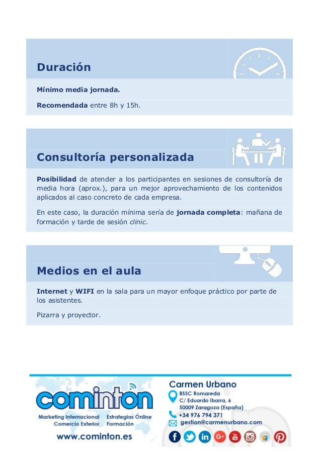 ¿Cómo encontrar nuevos clientes internacionales? (Programa formativo) Slide 3