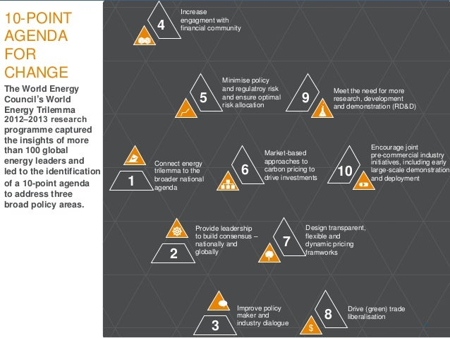 © World Energy Council 2014 The World Energy Council's World Energy Trilemma 2012–2013 research programme captured the ins...