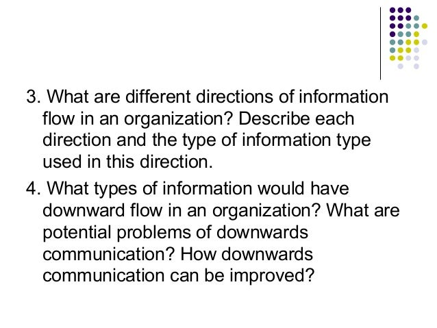 What Is Information Flow in an Organization?