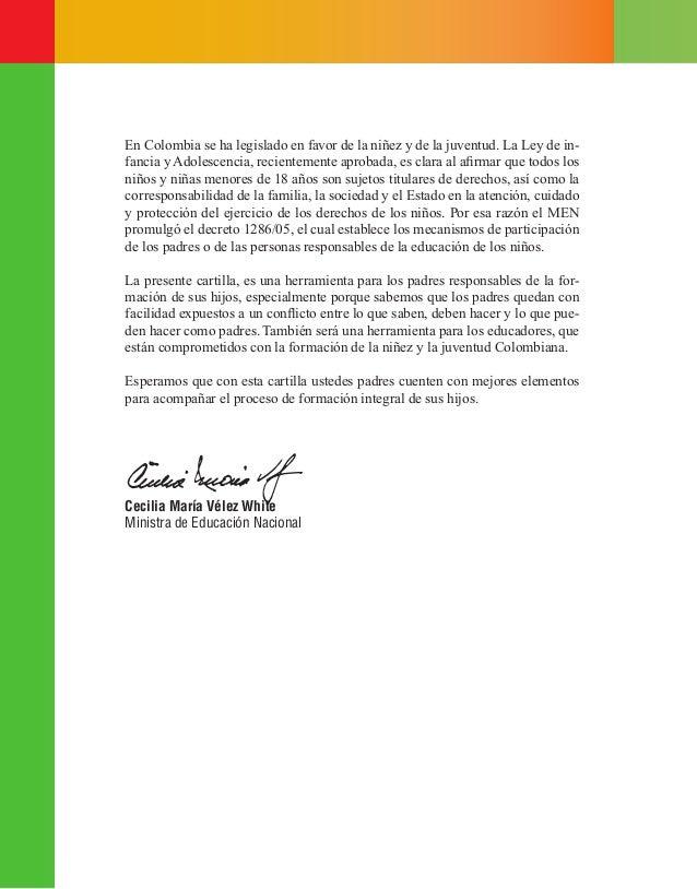 En Colombia se ha legislado en favor de la niñez y de la juventud. La Ley de in- fancia y Adolescencia, recientemente apro...