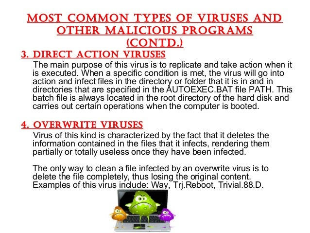 virus types hackersonlineclub