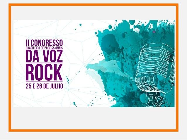As Metodologias Vocais Contemporâneas e a Voz Rock Marcio Markkx
