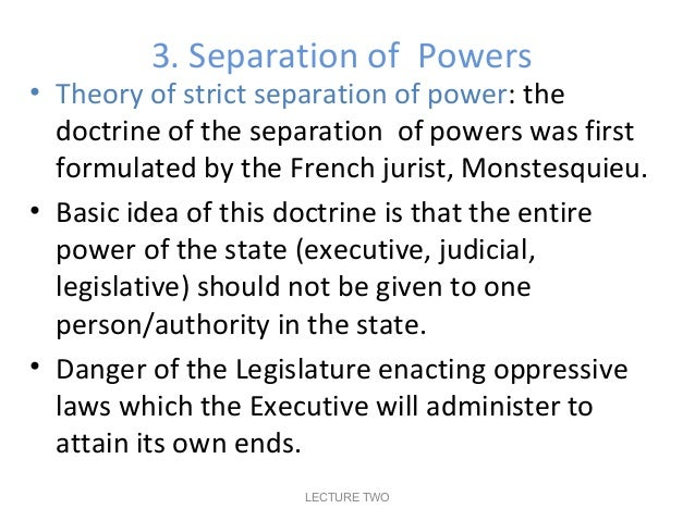 doctrine of separation of powers in malaysia pdf