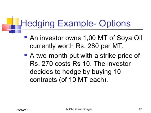 Put writing of a option risks venture
